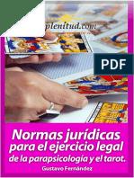 Normas Jurídicas Parapsicología y Tarot.pdf
