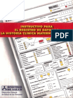 Instructivo Historia Clinica Materno Perinatal. Rm008-2000 (1)