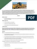 Manual Motoniveladora g720b