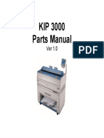 KIP 3000 Parts Manual Ver 1