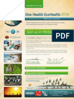 One Health EcoHealth Congress 2016