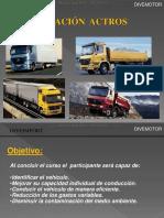 Curso Operacion Camion Mercedes Actros Datos Tecnicos Tablero Instrumentos Inspeccion Combustible Conduccion