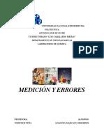 Informe-medicion y Errores