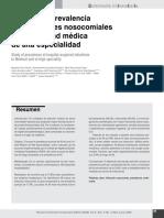 estudio de prevalencia en unidades hospitalarias