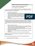 Actividad 1 - Unidad 2 (Instrucciones)