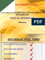 Nivel de Advertencia Matpel - P1