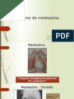 tumores mediastino