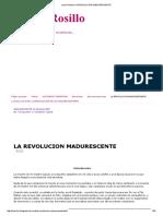 Laura Rosillo_ La Revolucion Madurescente