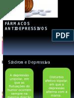 FÁRMACOS ANTIDEPRESSIVOS