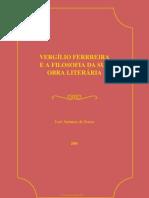 Sousa Jose Antunes Alves Vergilio Ferreira Filosofia Sua Obra Literaria
