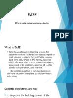 EASE Presentation