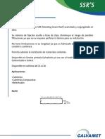 KR 24 Especificacion Técnica