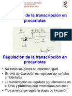 Clase12-RegulacionTranscripcionProcariotas2016
