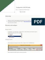 Configure Guide for Unifi AP