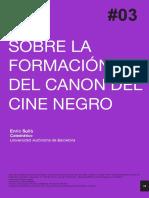 Canon Del Cine Negro