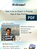 Pipe & Pipe Fitting Guide for Oil & Gas Career