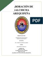 salchicha arequipeña