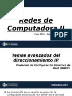01 - [Redes de Computadoras II] - P48 - Capítulo # 1 - [2 - DHCP]
