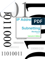 IP Addressing and Subnetting - Instructors Workbook