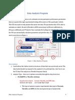 Data Analysis Program