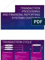 Transaction Processing and Financial Reporting Systems Overview