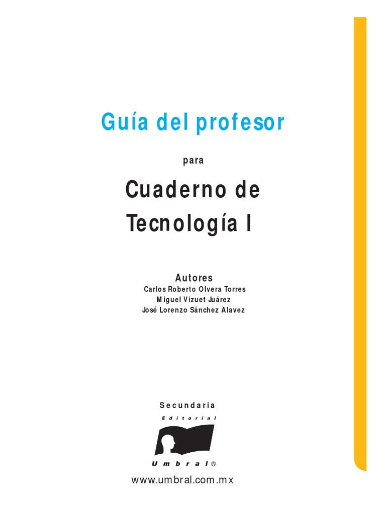 Tecnología 1 Guía
