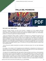 24 de Mayo_ Batalla Del Pichincha __ Ecuadorinmediato