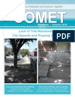 COMET Summer 2016 Newsletter