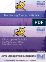 Monitoring Apache Tomcat With JMX