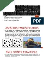ASFALTOS EMULSIFICADOS
