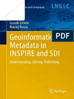 Geoinformation Metadata in INSPIRE and SDI