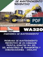 Programa MP C.F. Komatsu WA - 320