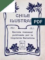 Chile Ilustrado. Revista Mensual Publicada por la Imprenta Barcelona. 1902-1903
