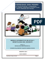BENHUR CAMPOS Etica y Deontologia