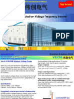 List of Medium Voltage Inverters for Industrial Control