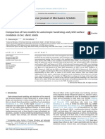 European-A-2015-Comparison of two models for anisotropic hardening and yield surface.pdf