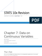 Stats 10x Revision 79-1-1