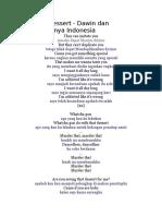 Lirik Lagu Dessert