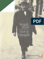 Le Livre de l Intranquillite 1 - Fernando Pesso
