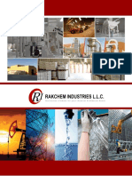 Rakchem Brochure for Email Marketing