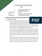 Rpp Mesin Bubut Kelas Xi (Dadi) Faerticing