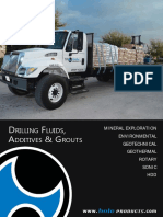 DRILLING FLUIDS, ADDITIVES & GROUTS