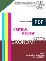 Critical Review Dampak Urbanisasi Bagi p