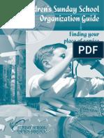 3-Children's Sunday School Organization Guide