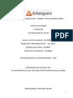 ATPS - Contabilidade de Custos