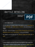 Ductile Detailing