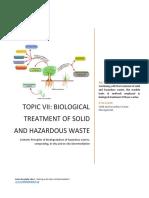 Biological Treatment Solid Hazardous Waste