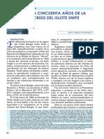 """Chile, """"La crisis fronteriza del islote Snipe"""" (1958)"""