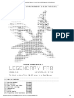 GameFAQs_ Pokemon Diamond Version (DS) Legendary FAQ by Drayano