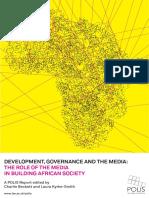 Development Governance Media